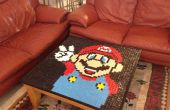 Super Mario mozaïek tabel Table Cover