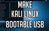 Hoe maak je een Bootable Kali Linux 2.0 USB