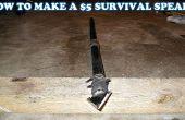 HOE MAAK JE EEN $5 SURVIVAL SPEER!!!