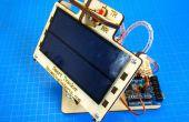 Eenvoudige dubbele as Solar Tracker
