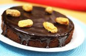 Hoe maak je data chocoladetaart - zelfgemaakte datums Cake Recept