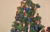 Wat is de beste manier om een kleine en feestelijke kerstboom versieren?