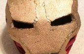 Schuim van Iron Man helm (goedkope versie)