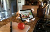 Een iPad / Tablet PVC Stand die iedereen kan maken!