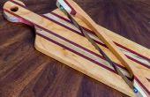 Elegante houten breadboard