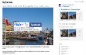 Flickr foto's direct uploaden naar Facebook fotoalbum