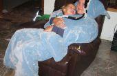 Instant gezellige Kimono badjas gemaakt van deken