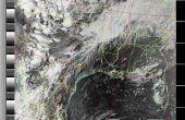 NOAA satelliet signalen met een PVC QFH antenne en Laptop