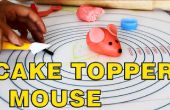Hoe maak je Fondant Mouse taart Toppers