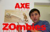 Hoe maak zombie bijl met fiets remmen