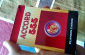 Zwarte en rode kaart goocheltruc