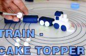 Hoe te maken suiker plakken Fondant trein Cake Toppers