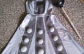DIY Dalek Armor jurk