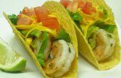 Gemakkelijk garnaal taco's