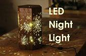 Maken van een LED-nachtlampje W / sterpatroon