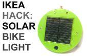 IKEA Hack: Zonne-aangedreven fiets licht