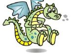 Hoe teken je een draak cartoon!