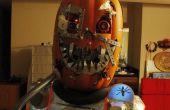 Mutant Cyborg Pompoen Halloween kostuum v1.3