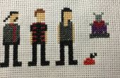 Farscape Cross Stitch: Seizoen drie tekens (Talyn)