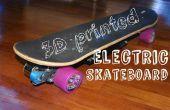 DIY 3D afgedrukt elektrische Skateboard met 1500W van macht!