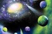 Schilderen van een sterrenstelsel in 30 minuten