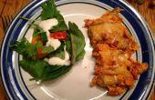 Dorito kip Casserole en No-Bake Cookies--snelle & eenvoudig diner datum