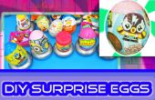 DIY Hoe te maken van verrassing eieren met snoep / Toy Wrappers