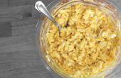 Hoe maak je eiersalade