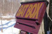 Vleermuis-Box van een teruggewonnen Pallet