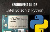 Aan de slag met Intel Edison - Python Programming