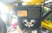 Hoe het bouwen van een megafoon fiets Stereo