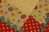 Naai een zoete heirloom baby quilt!