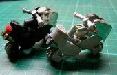 Motorfiets speelgoed model met 2 eenheden van gas aanstekers