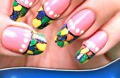 Kleurrijke Tips Nail Art Design
