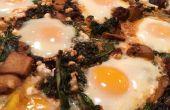 Marokkaanse gebakken eieren