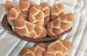 Knoflook en tijm gevlochten brood