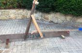 Eenvoudig verstelbare Catapult
