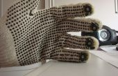 MIDI-handschoen met behulp van de Arduino en lichtsensoren drummen
