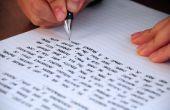 Het bewerken van uw eigen schrijven