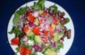 Zomer biefstuk salade