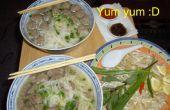 Pho Bo Vien (Vietnamees gehaktballen soep mijn weg)
