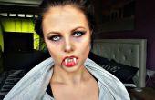Vampier Halloween Make-up