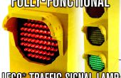 Volledig-functionele LEGO verkeer signaal Lamp