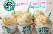 Karamel Frappuccino Cupcakes
