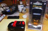 Hoe een Porter kabel 18V Cordless Tool batterij met behulp van cellen uit een $15 Harbor Freight batterij recell