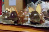 Chocolade muizen, een surefire win voor uw geliefde.