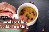 2 minuten Chocolate Chip magnetron Cookie