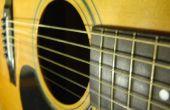 String of tekenreeks niet: hoe vervangen snaren van een staal-snarige akoestische gitaar