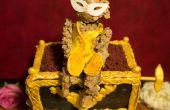 Het spook van de Opera Monkey muziekdoos taart