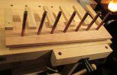 Sjaal/mitten/hat rack - dochter 1ste houtbewerking bouwen